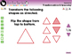 Geometry: Transformations & Symmetry - Practice the Skill 2 - PC Gr. PK-2