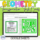 Geometry Transformations | Task Cards and Maze