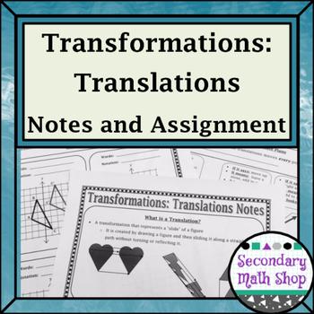 Transformations - Geometry Transformations Translations No