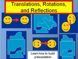 Translations, Rotations, and Reflections (Transformations in Geometry)