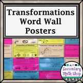 Transformations - Transformations, Types, Properties, Coordinate Plane Posters