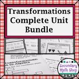 Transformations - Geometry Unit 6: Transformations Unit Bundle