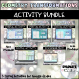 Geometry Transformations Digital Activities Bundle