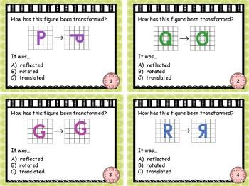 Geometry - Translating figures set 3