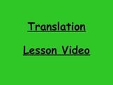 Geometry Translation Lesson Video