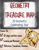 Geometry Treasure Map: Geometry Culminating Task