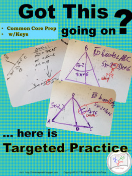 TRIANGLE: Sides vs. Angle Relationships ~Targeted Practice