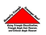 Geometry Triangle Scavenger Hunt