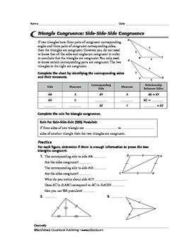 Geometry: Triangles 1