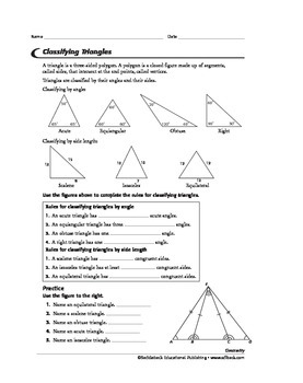 Geometry: Triangles 1