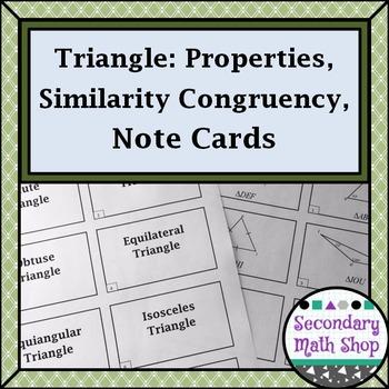 Congruent Triangles - Geometry Triangles Congruency Simila