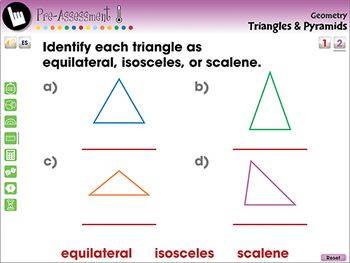 Geometry: Triangles & Pyramids - NOTEBOOK Gr. 3-5