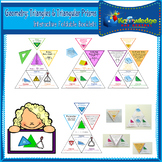 Geometry: Triangles & Triangular Prisms Interactive Foldab
