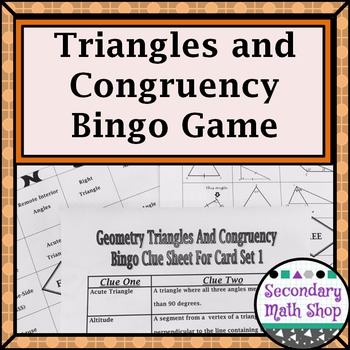 Congruent Triangles - Geometry Triangles and Congruency Vo