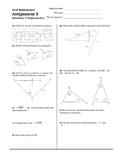Geometry & Trigonometry Assignment