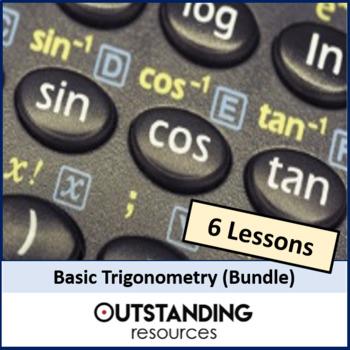 Trigonometry or Trig Bundle (10 lessons)
