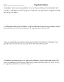 Geometry / Trigonometry Word Problems