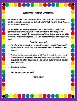 Geometry Twister