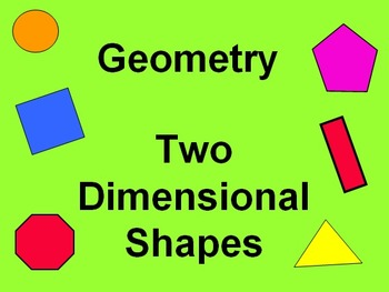 Geometry Two Dimensional Shapes