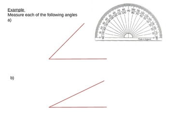 Geometry: Types of Angles
