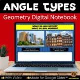 Angle Types for Google Slides® Geometry Interactive Notebo