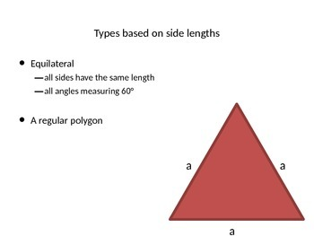 Geometry - Types of Triangles