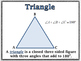 Triangles - Classification, Special Lines, Angles, Formula