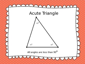 Geometry: Types of Triangles and Lines