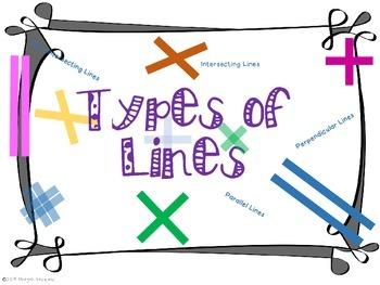 Geometry- Types of lines