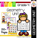 Geometry UNIT Fourth Grade Math 4.G.1, 4.G.2, 4.G.3,  4.MD