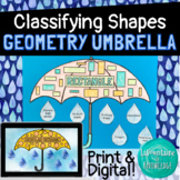 Geometry Umbrella Craft - Classifying Shapes with Lines and Angles