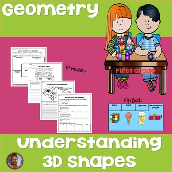 1st Grade Geometry: Understanding 3-D Shapes