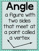 Math Literacy: Understanding Angles {Anchor Charts, Center