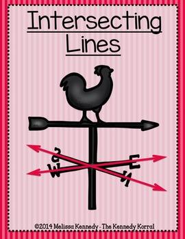 Math Literacy: Understanding Lines {Anchor Charts, Center, Assessment & MORE}