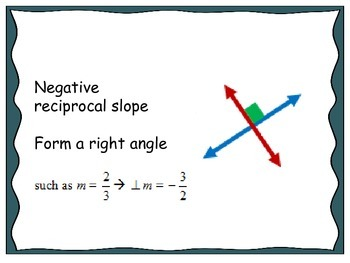 Geometry Unit 1 Flash Cards - Midpoint Distance Slope Transformations