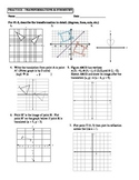 Geometry Unit 1 Transformations Reflection Translation Ref