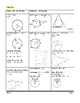 Geometry Unit 10 Notetaking Guide - Circles