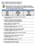 Geometry Unit 2 Logic Puzzle Activity Syllogism and Detachment