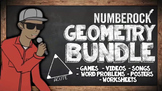Fun Geometry Review:  With Geometry Songs, Geometry Worksh