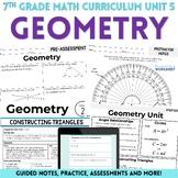 Geometry Unit : 7th Grade Math