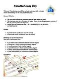 Geometry Unit 3 City Design using Parallel Lines