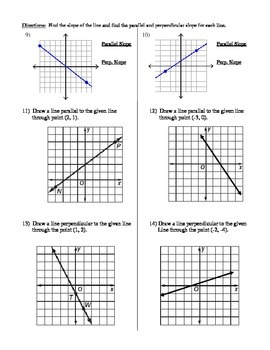 Geometry Unit 3 Prove Lines are Parallel Worksheet