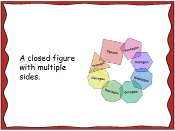 Geometry Unit 5 Flash Cards - Polygons Quadrilaterals