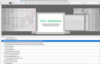 Geometry Unit 6 Bundle - Quadrilaterals Parallelograms (13 days)