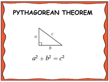 Geometry Unit 6 Word Wall - Right Triangles and Trigonometry
