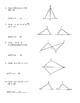 Geometry Unit 8 Congruent Triangles Informal Proofs SSS SAS ASA AAS HL Worksheet