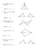 Geometry Unit 8 Congruent Triangles Informal Proofs SSS SA