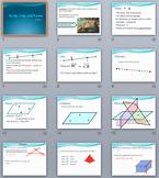 Geometry Unit BUNDLE – PowerPoints, Fill-in-the-blanks Not