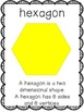 Geometry Unit (Common Core Aligned 2D, 3D, and pattern block shape activities)