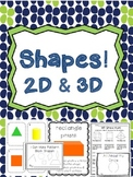 Geometry Unit (Common Core Aligned 2D, 3D, and pattern blo